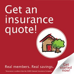 Home Only QuickQuote Banner Square Red